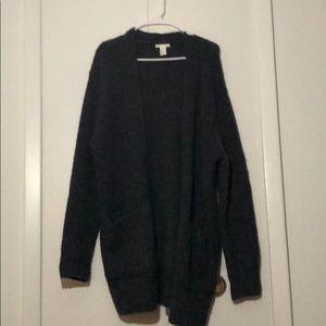 Oversized warm sweater